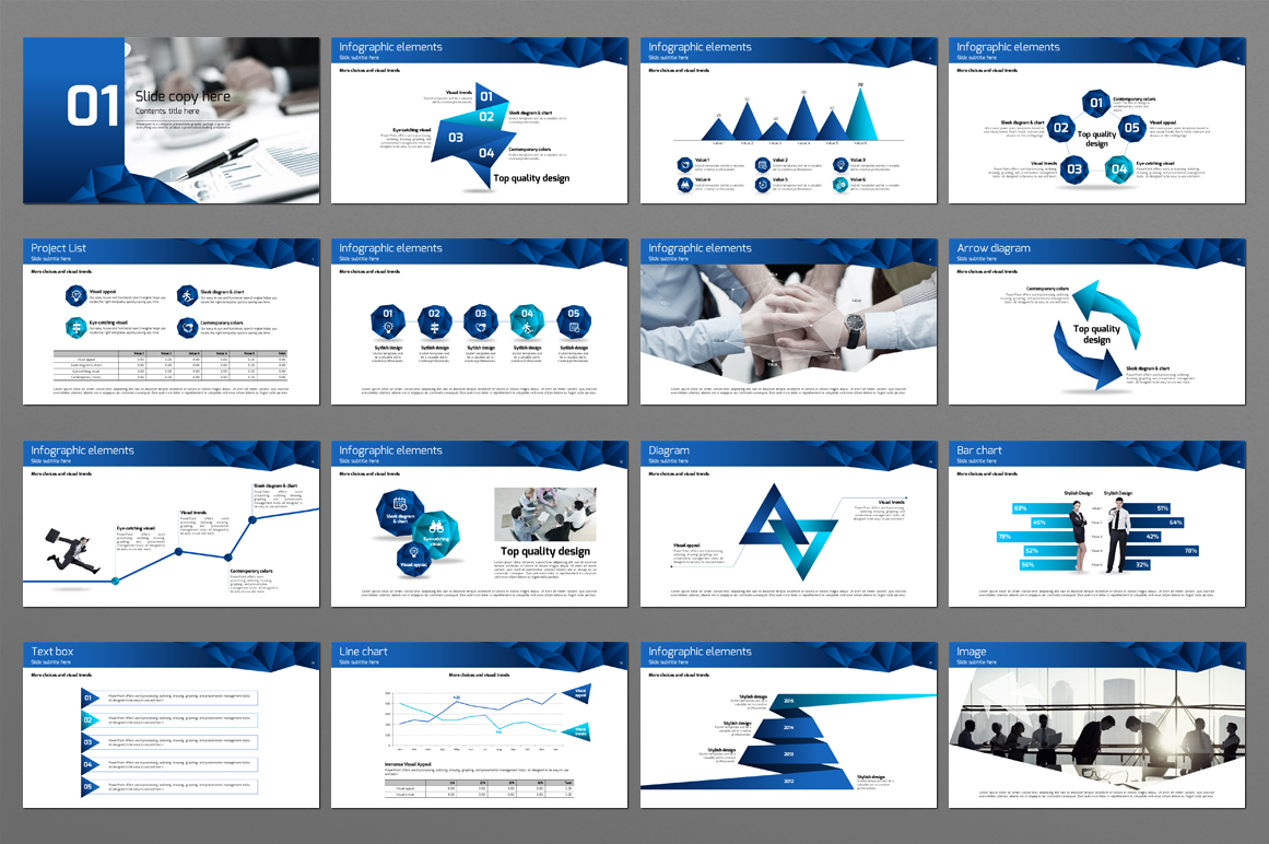 Business Conferences PowerPoint Template