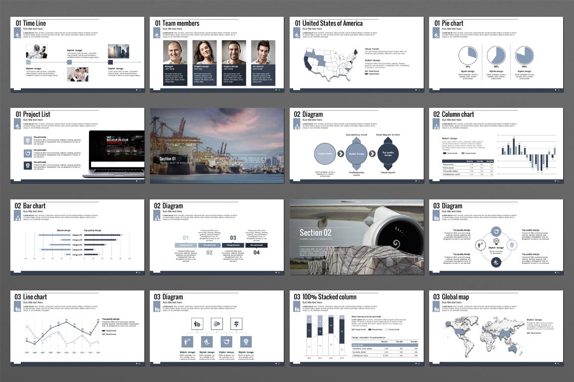 Logistics PowerPoint Template