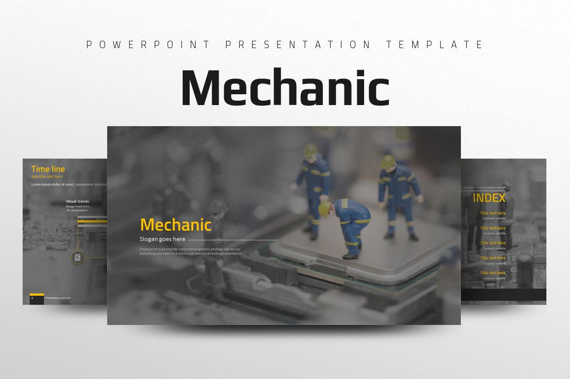 Mechanic PowerPoint Template