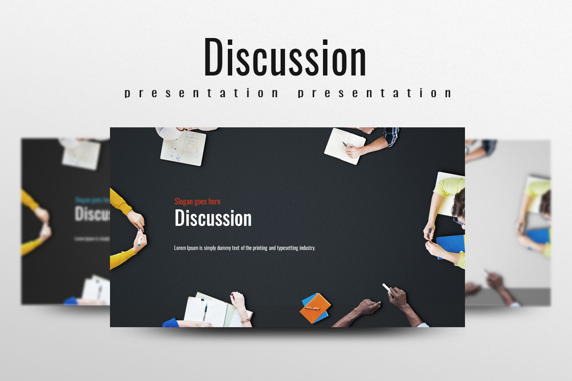 Discussion PowerPoint Template