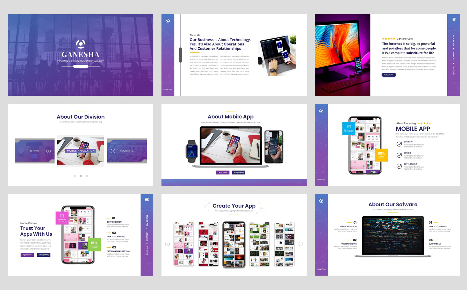 Business - Technology PowerPoint Template