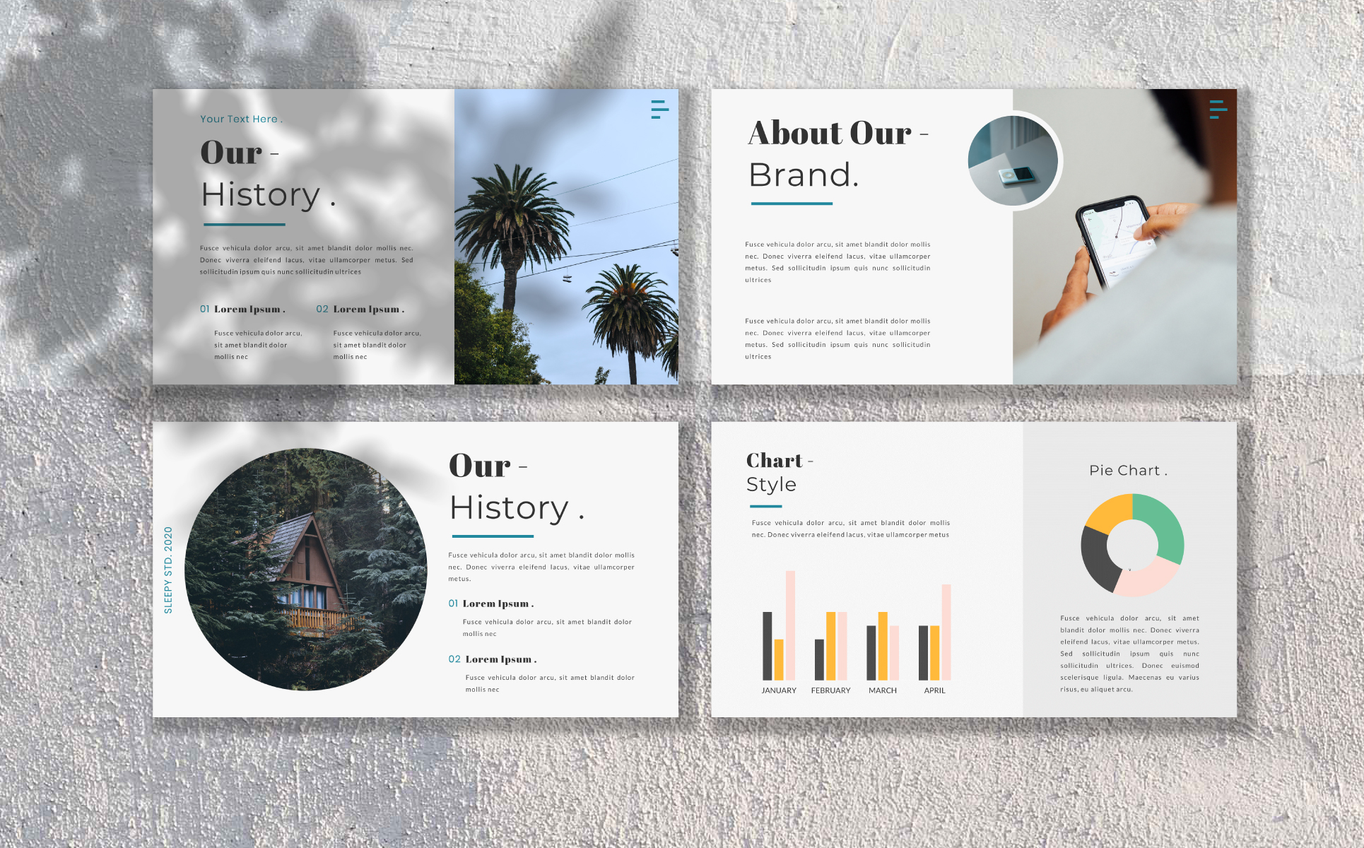Fria PowerPoint Template