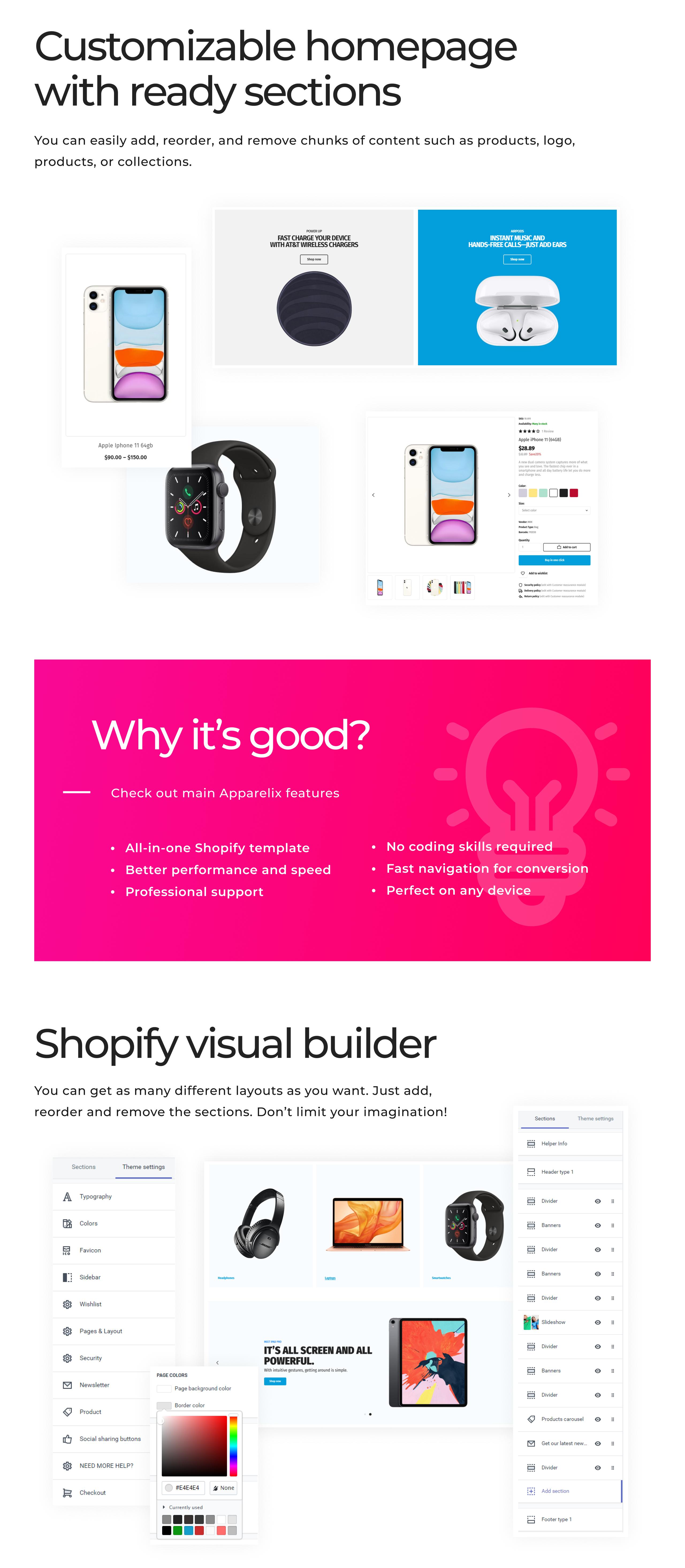 Electronics Shop on Shopify - Apparelix Shopify Theme