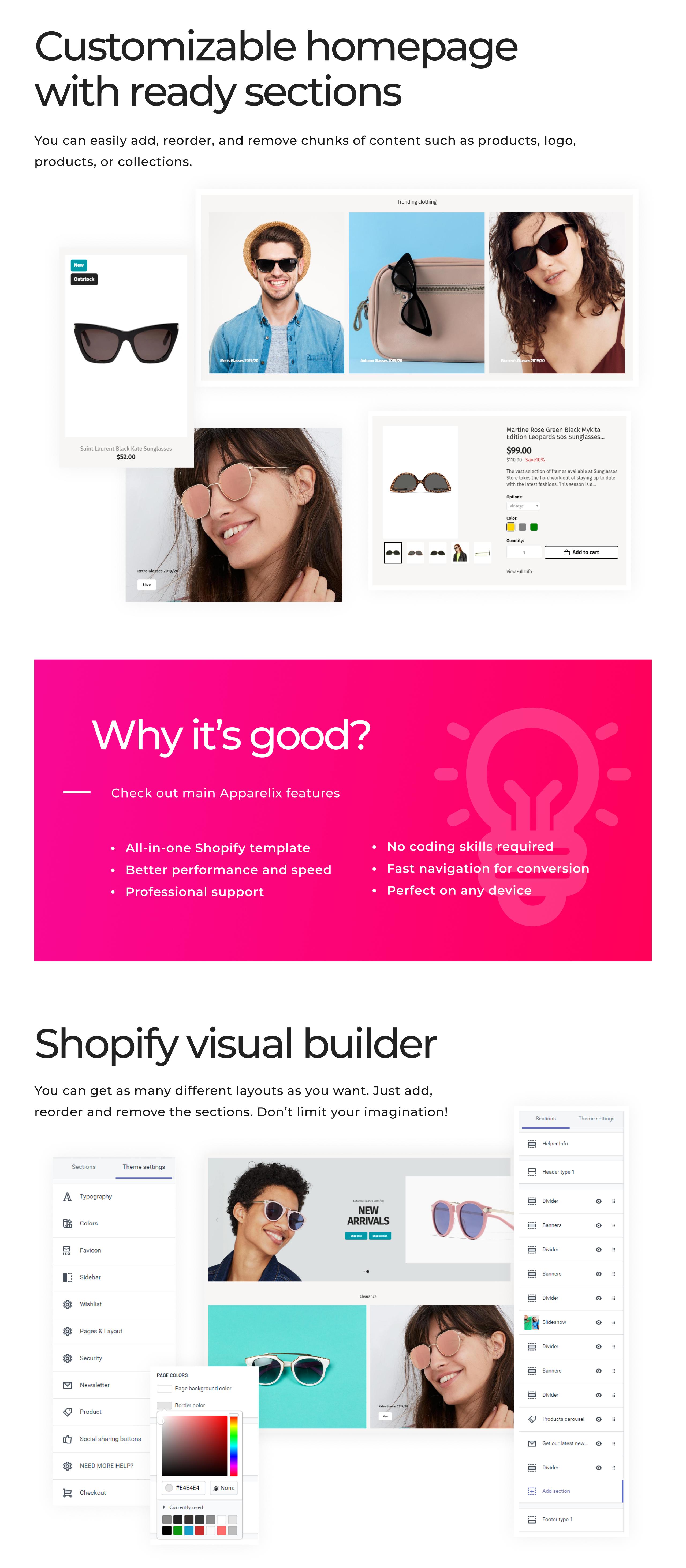 Sunglasses Store on Shopify Shopify Theme