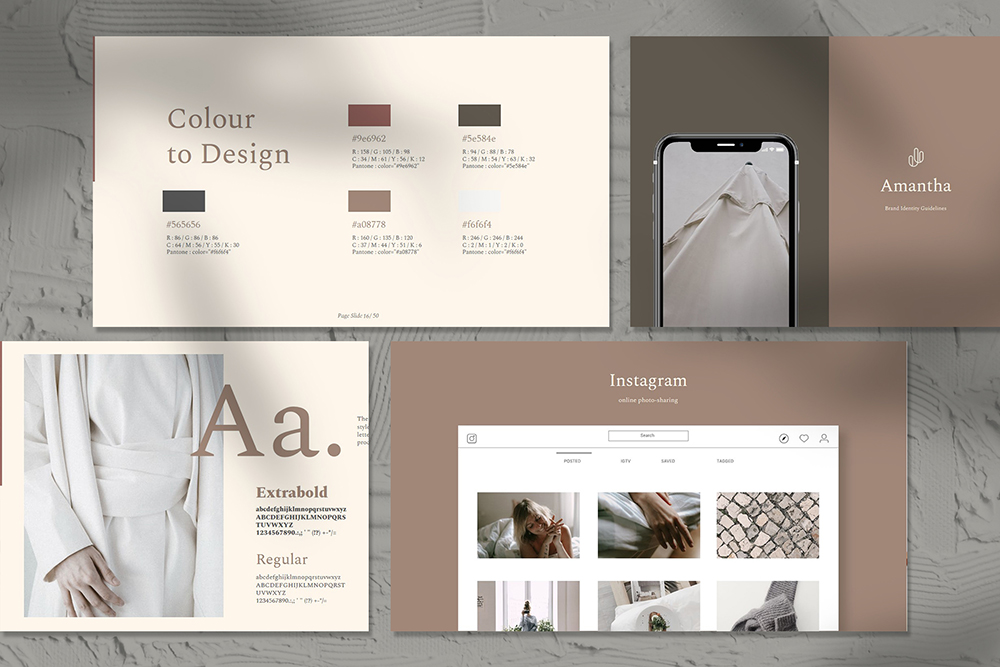 Amantha PowerPoint Template