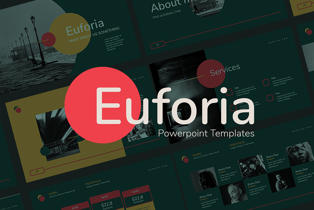 Euforia PowerPoint Template
