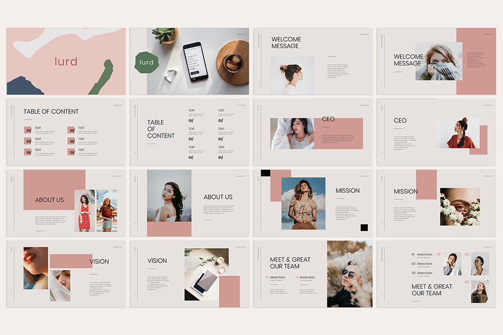 Lurd PowerPoint Template