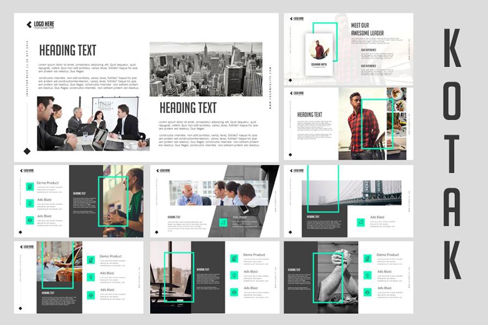 Kotak Clean PowerPoint Template