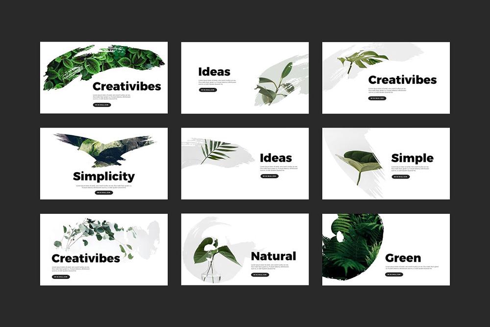 Laris Brush PowerPoint Template