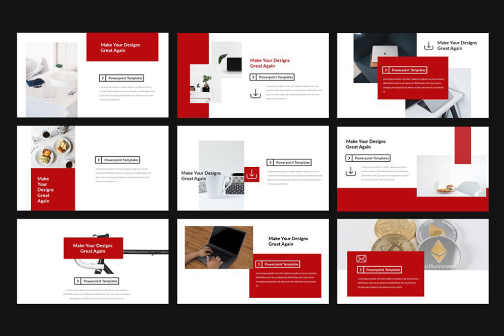 Stevy Lookbook PowerPoint Template