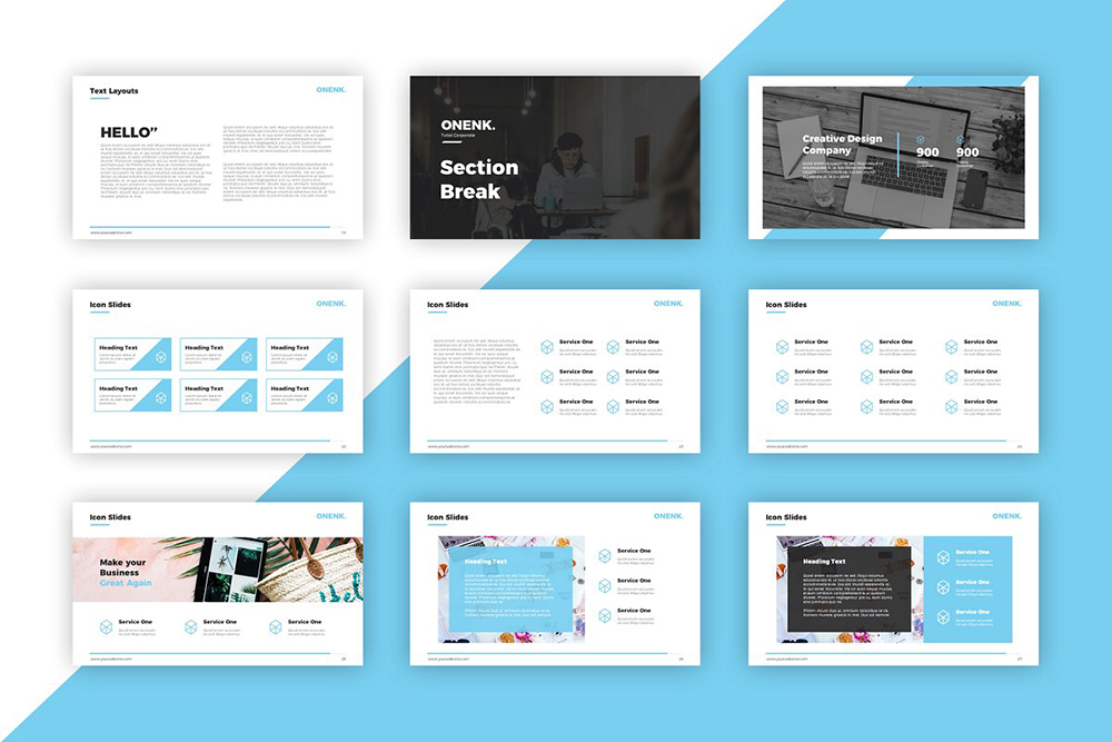Onenk PowerPoint Template