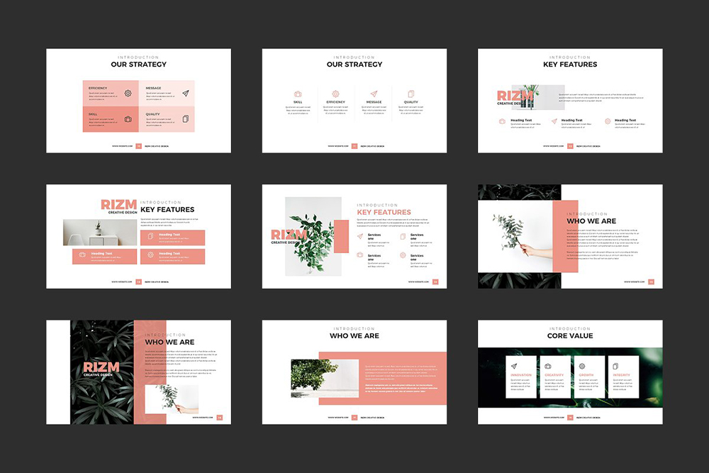 Rizm PowerPoint Template
