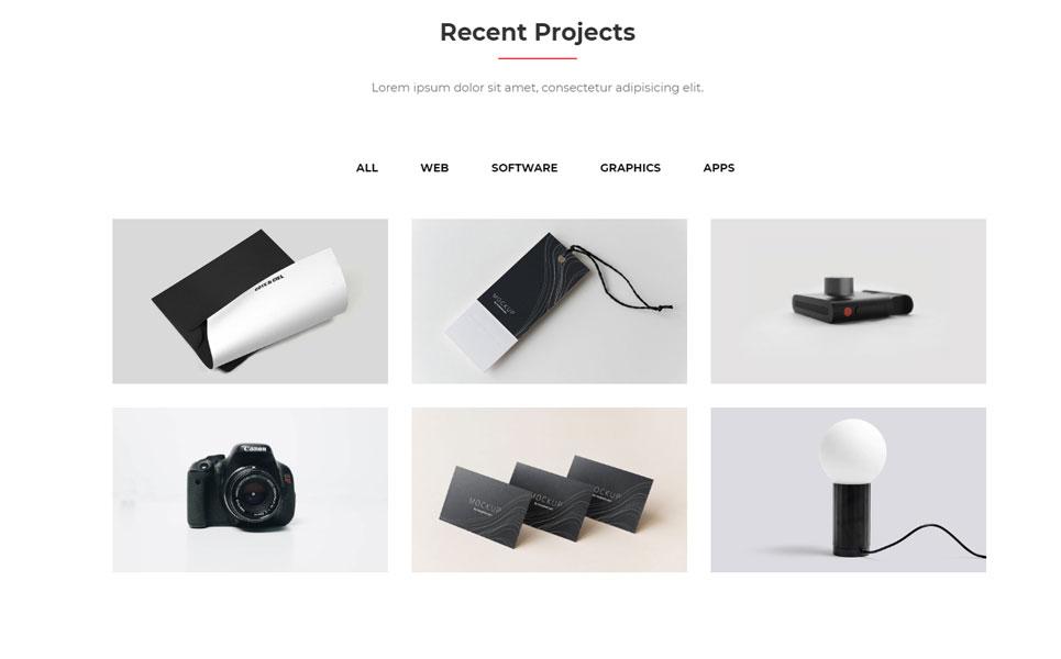 Bronson-Personal Portfolio Landing Page Template