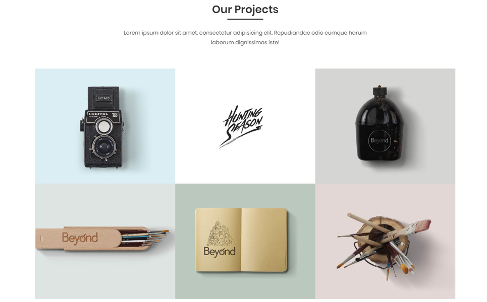 Marlon - Personal Portfolio HTML Landing Page Template