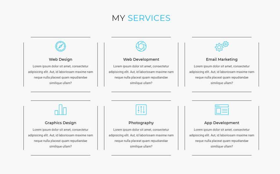 Malvin - Personal Portfolio HTML Landing Page Template