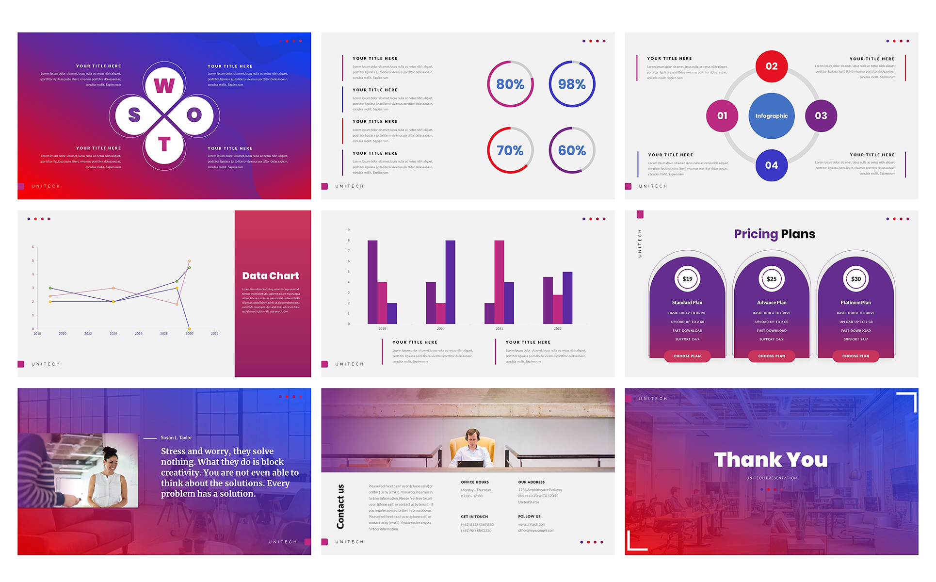 Unitech - PowerPoint Template