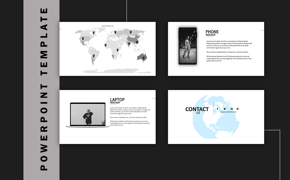 Minimal Fashion PowerPoint Template