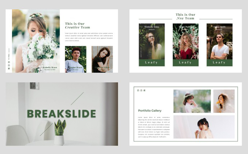 LEAFY PowerPoint Template