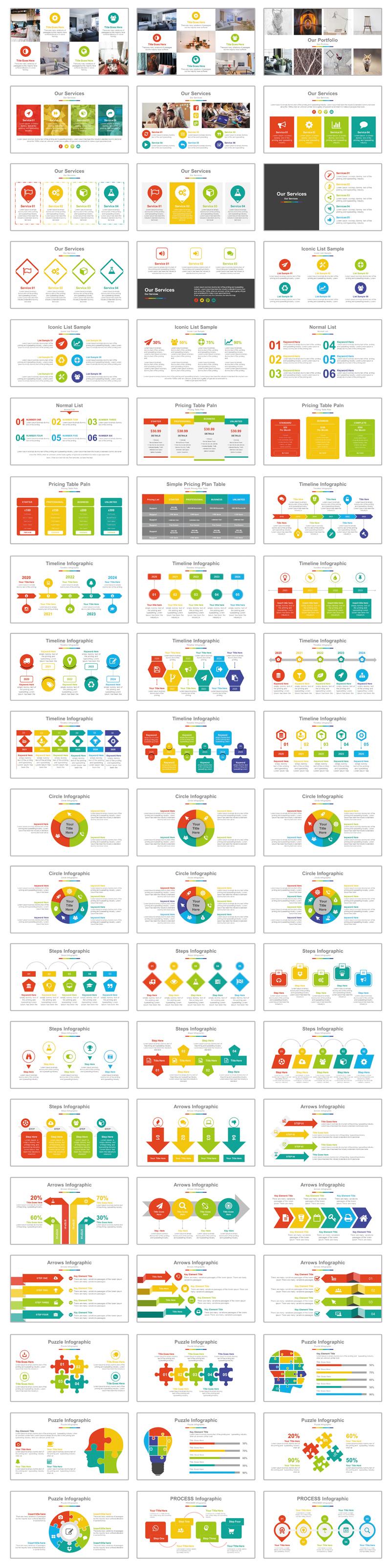 Best Business Presentation PowerPoint Template