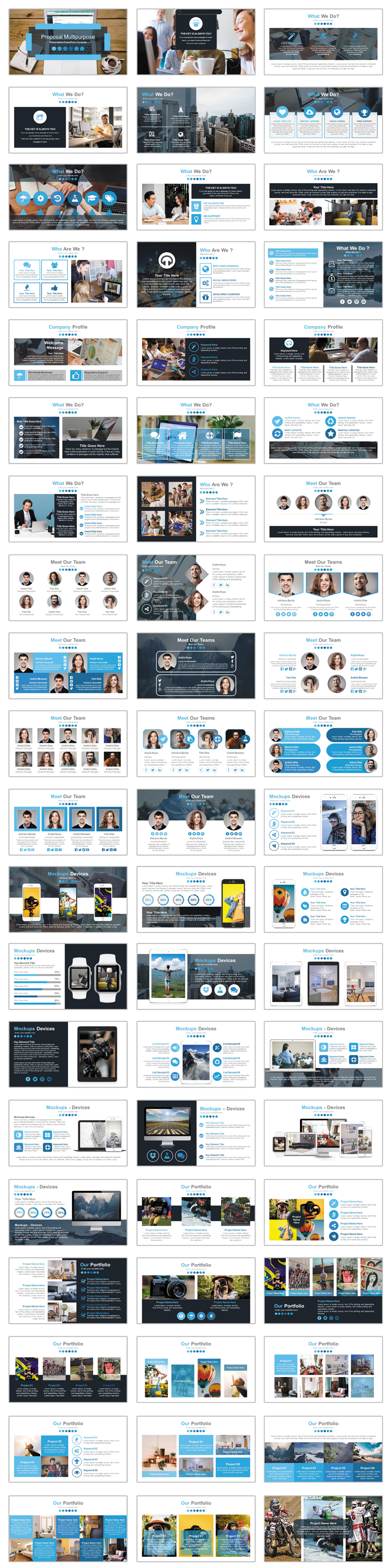 Marketing Solutions PowerPoint Template