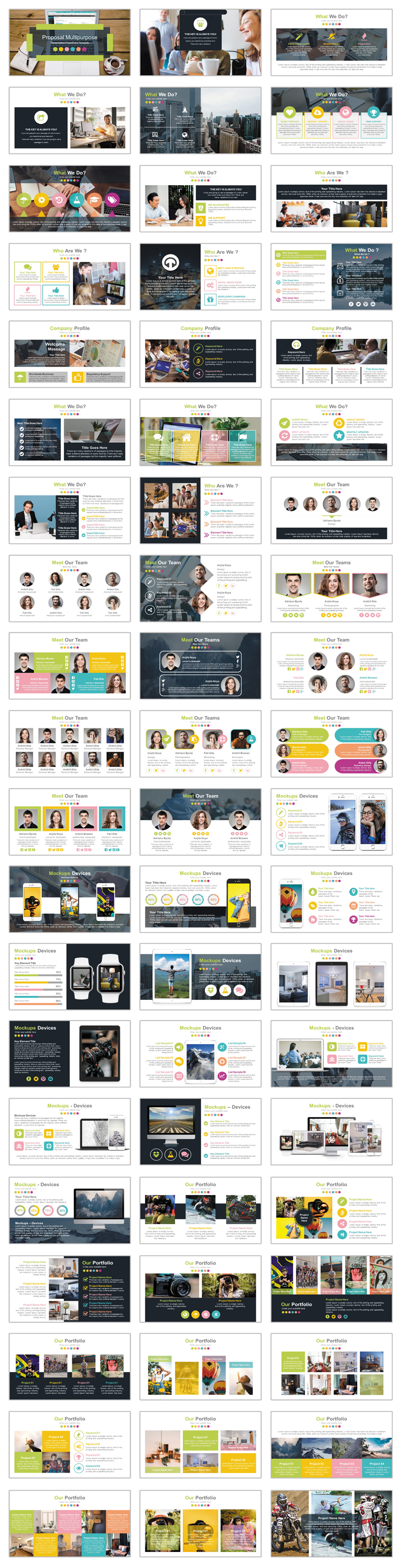 Trending Solutions PowerPoint Template