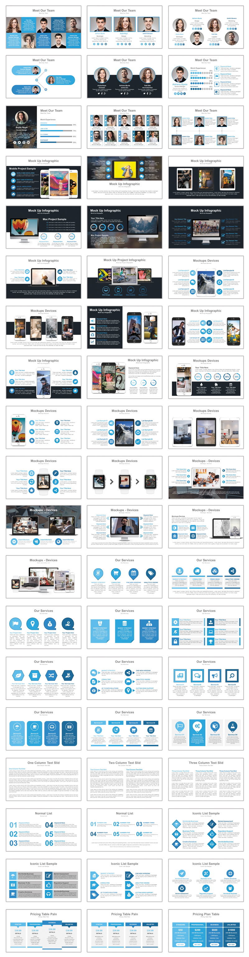 Project Status PowerPoint Template