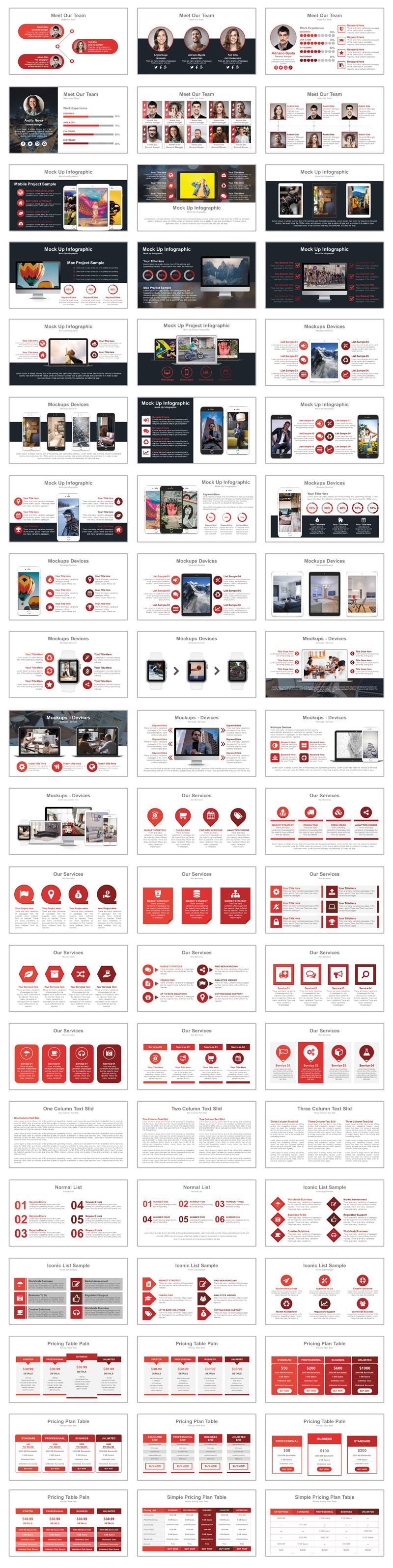 Modern Creative Presentation PowerPoint Template