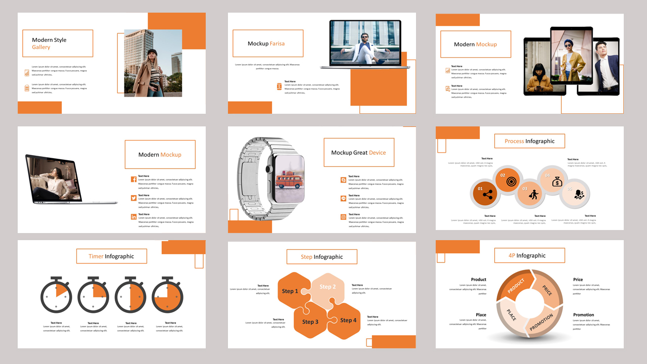 Farisa Creative Business PowerPoint Template