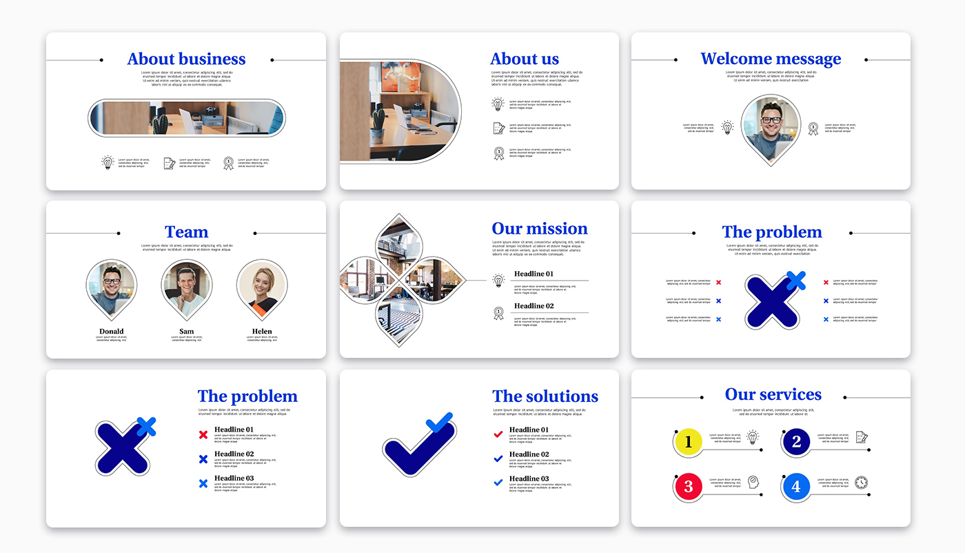 Twistay Startup Pitch Deck PowerPoint Template