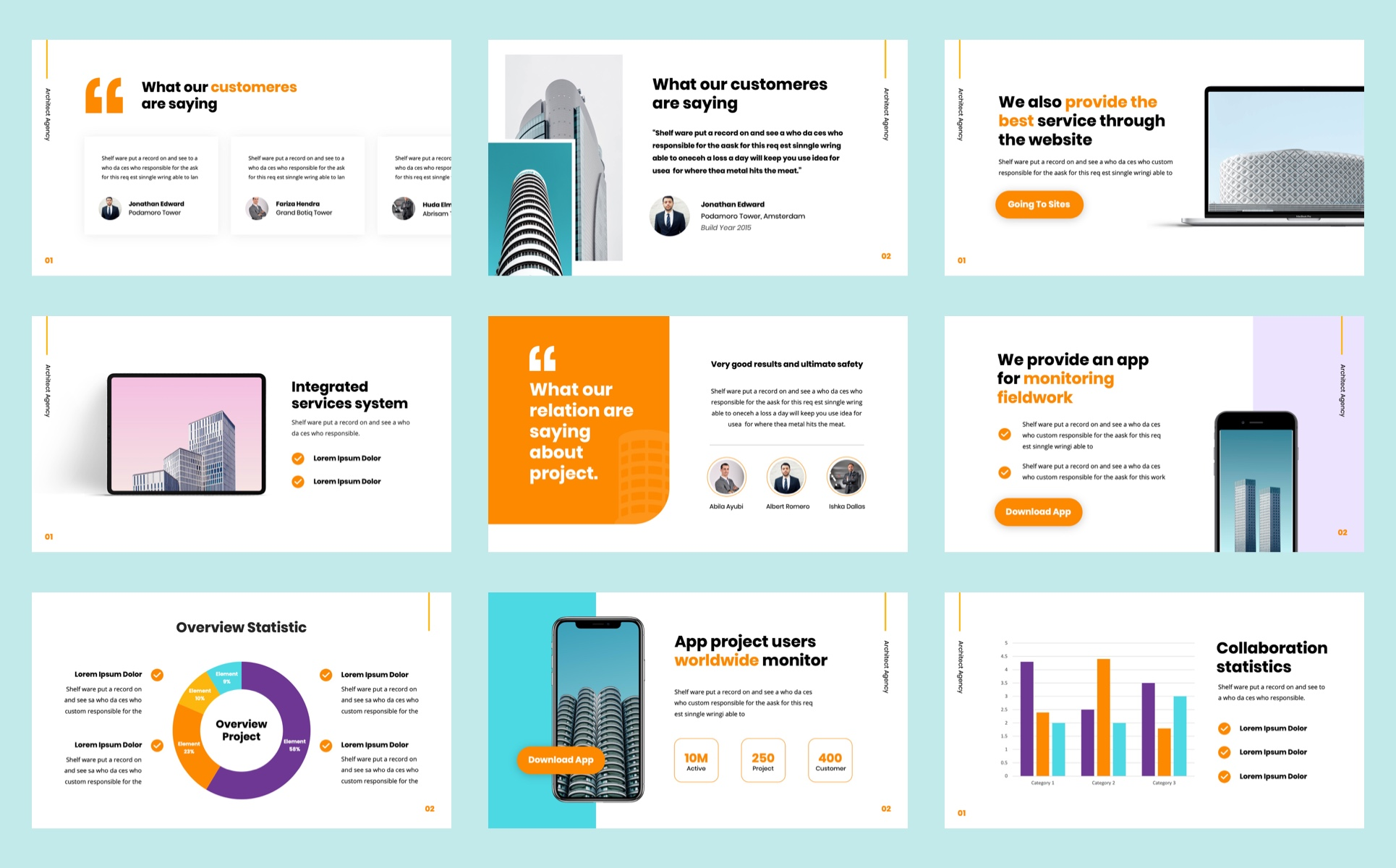 BUILDER - Architect Agency PowerPoint Template
