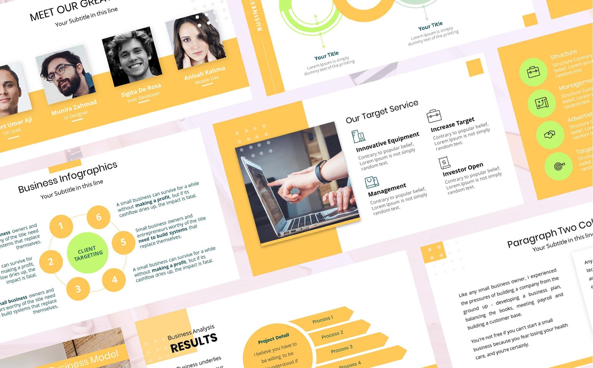 Avara - Business Presentation PowerPoint Template