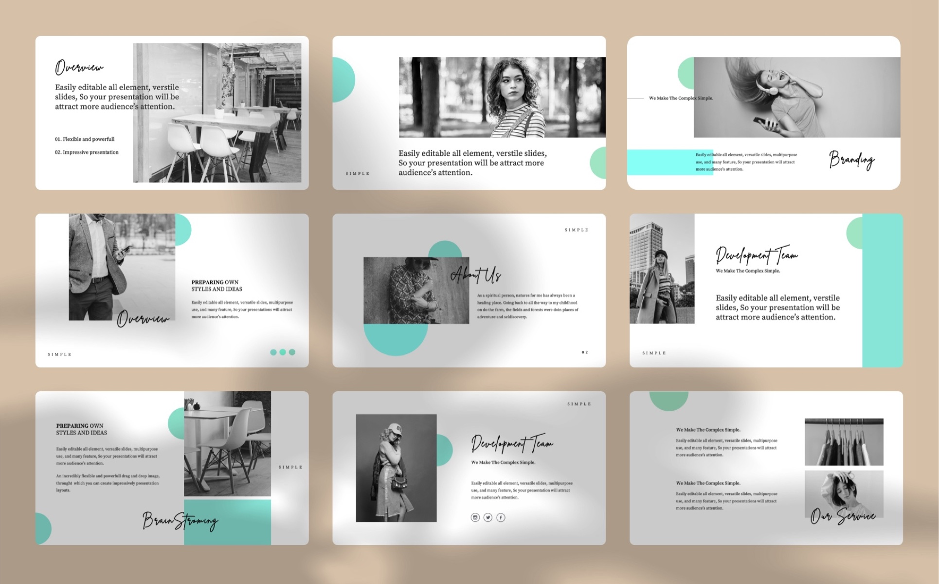 Creative Deck PowerPoint Template