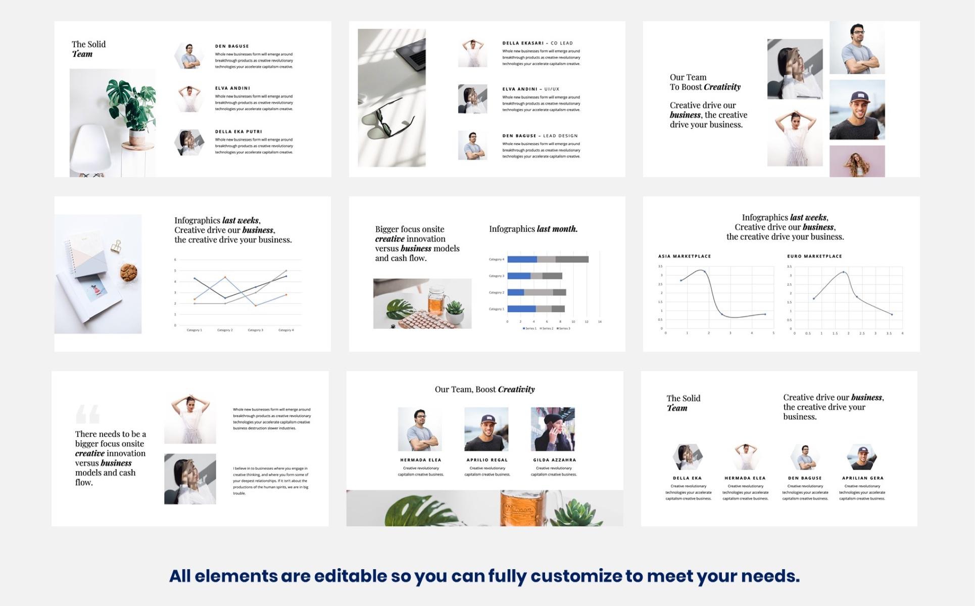 Minimalist - Clean Presentation PowerPoint Template