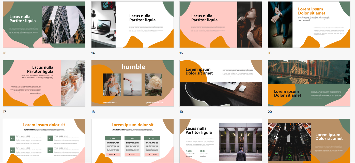 Morandi PowerPoint Template