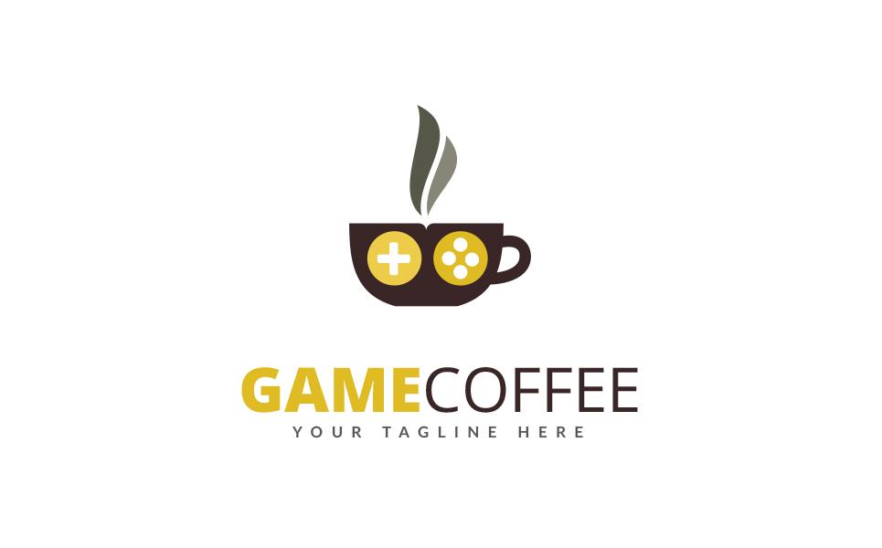 Game Coffee - Logo Template