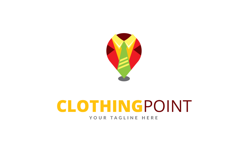 Clothing Point Logo Template