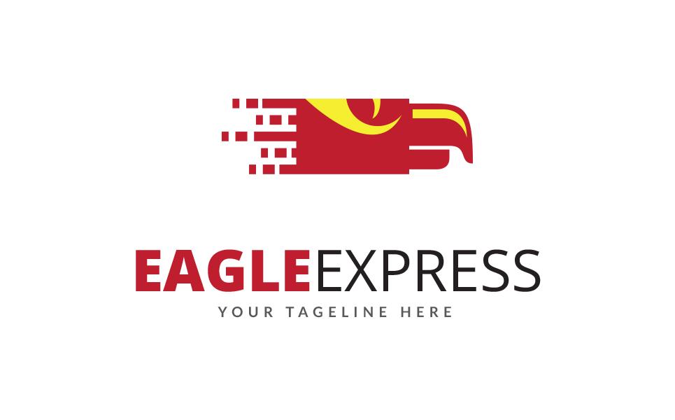 Eagle Express Logo Template