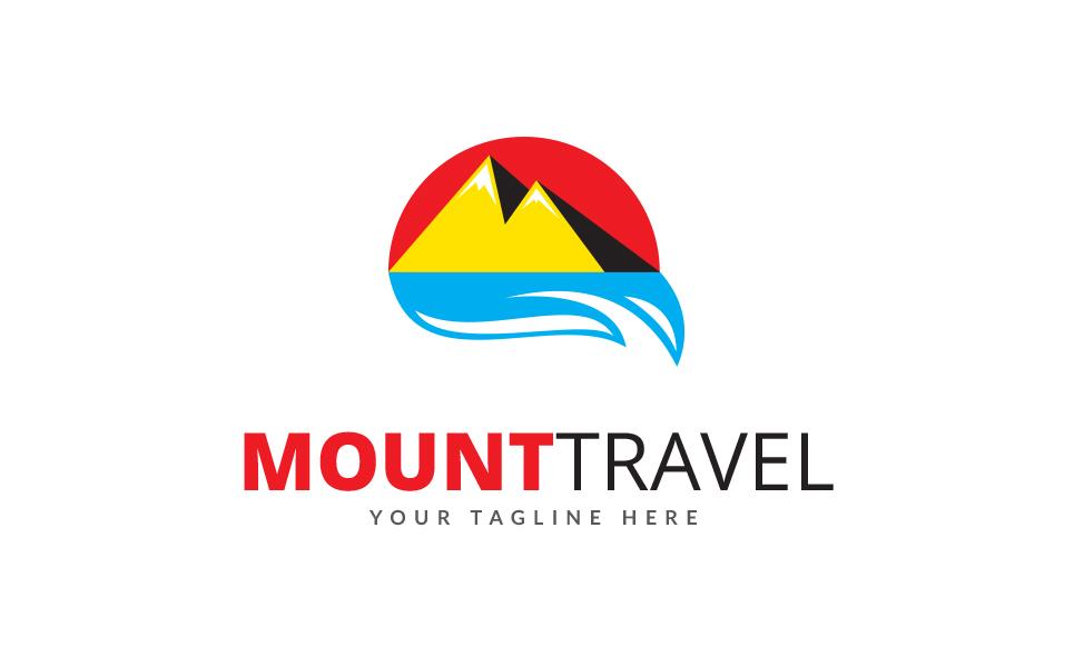 Mount Travel Logo Template