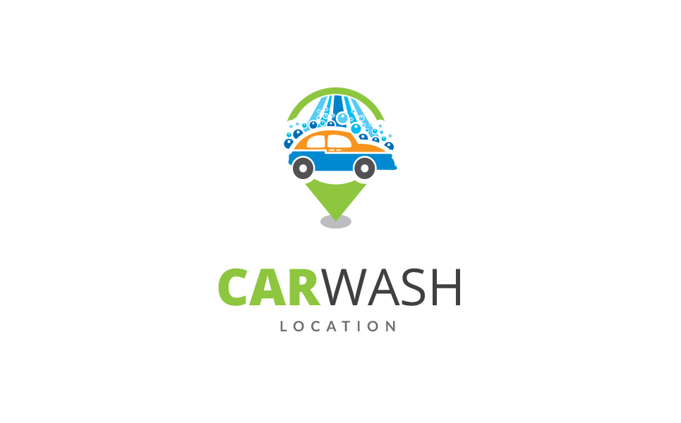 Car Wash Point - Logo Template