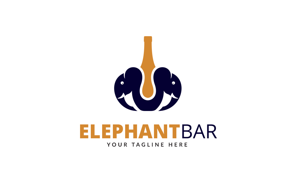 Elephant Bar Logo Template
