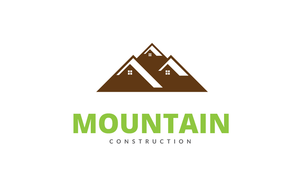 Mountain House Logo Template