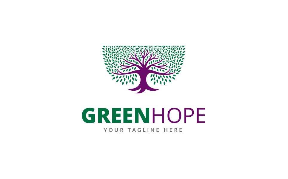 Green Hope Logo Template