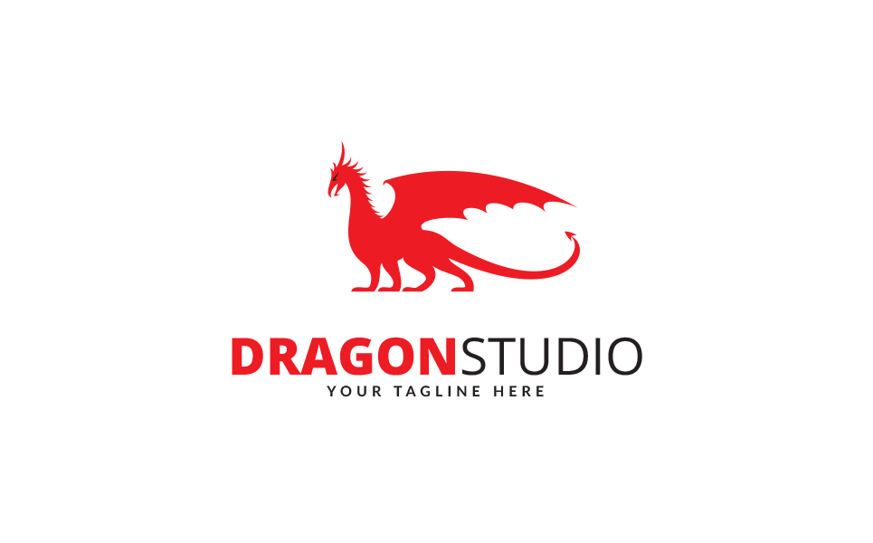 Dragon Studio Logo Template