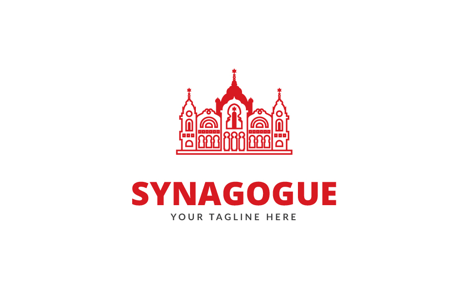 Synagogue Logo Template