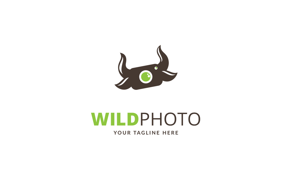 Wild Photo Logo Template