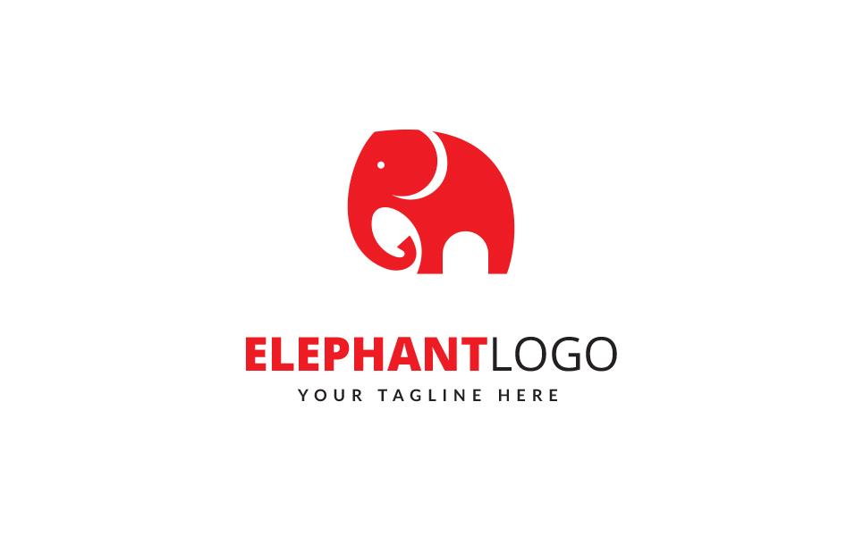 Little Elephant Logo Template