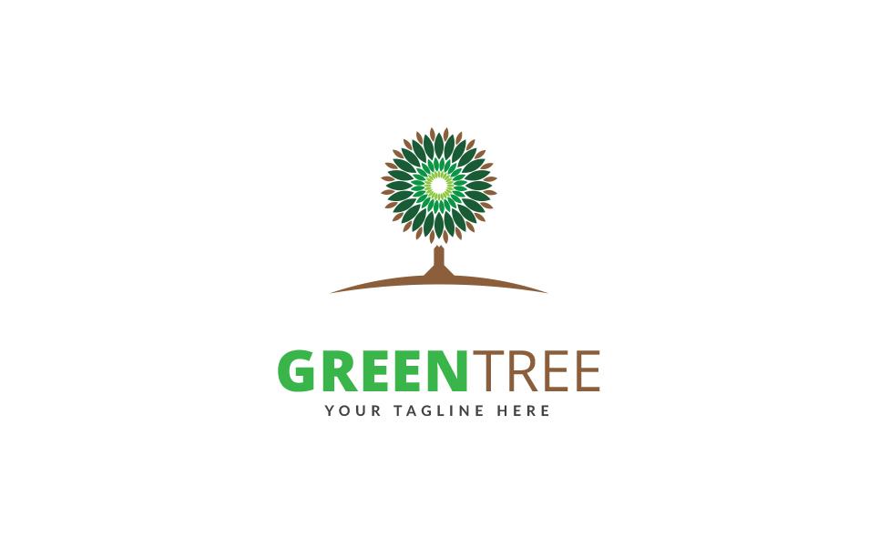 Green Tree Logo Template