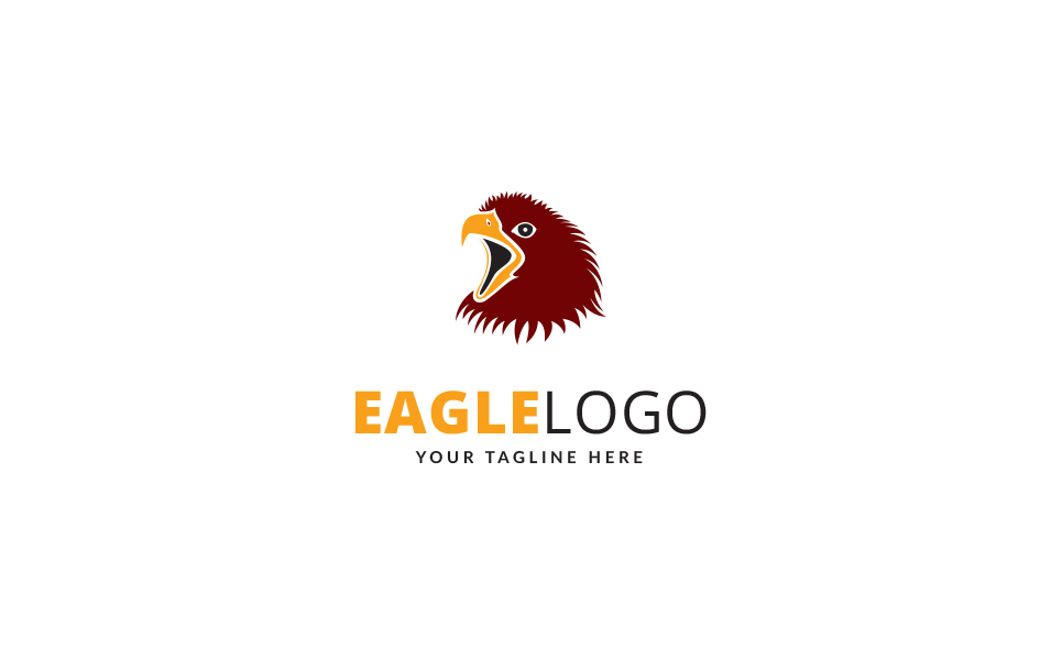 Eagle Brand Logo Template