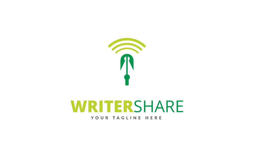 Writer Share Logo Logo Template