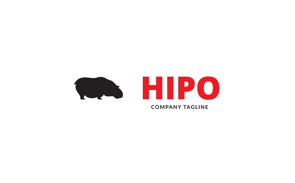 Hippo Logo Template